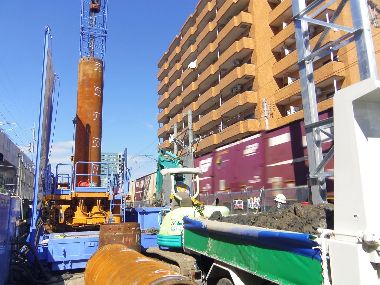 富山某高架新設工事