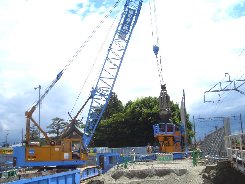某橋りょう改築工事