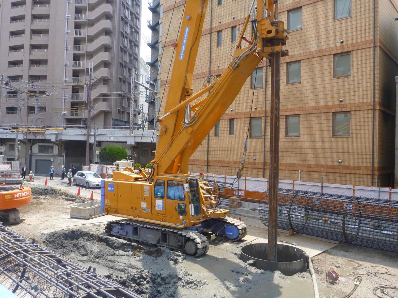 大阪市北某工事