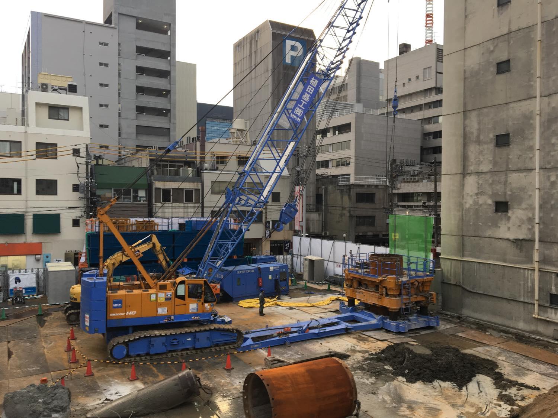 広島市某ビル建設工事