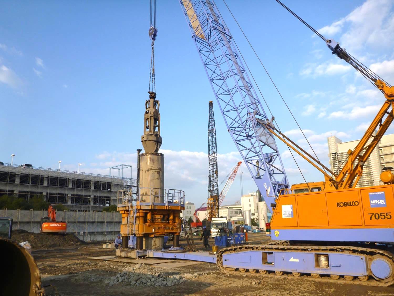某港東プロジェクト置換工事