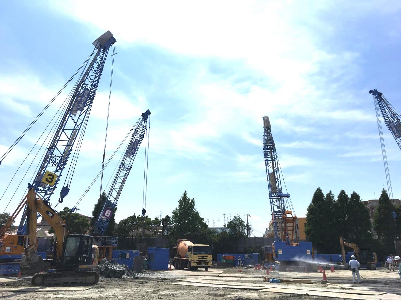 尼崎市某学校建設工事