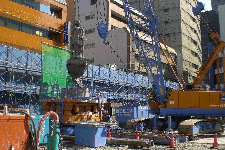 名古屋市某障害撤去工事
