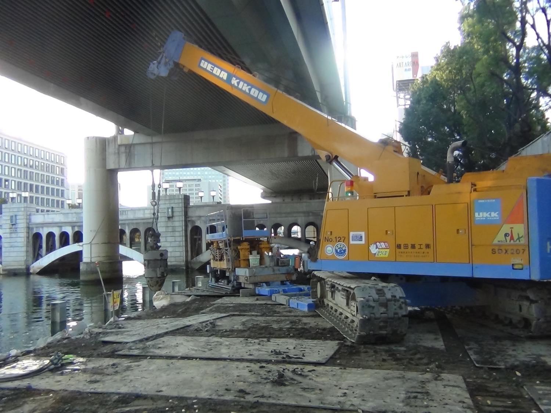 中之島にぎわいの森プロジェクト障害撤去工事