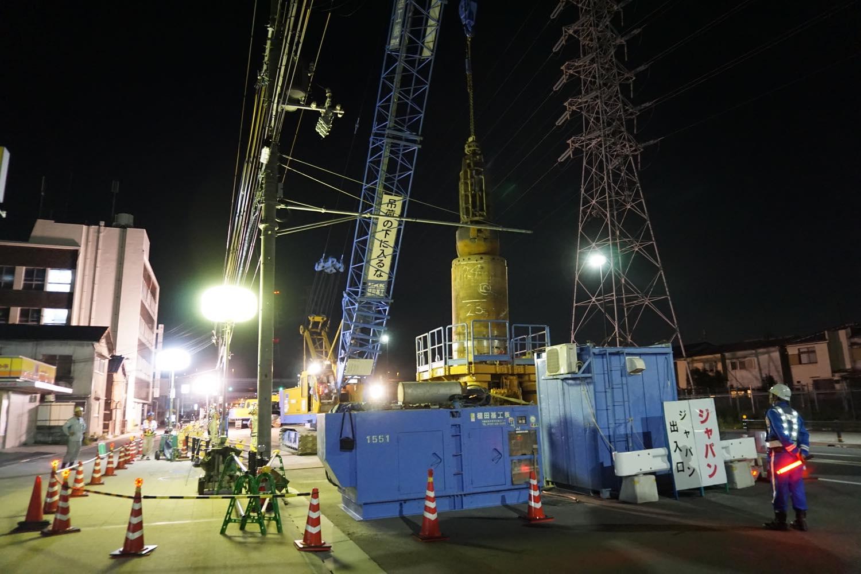 阪神高速保全管理工事