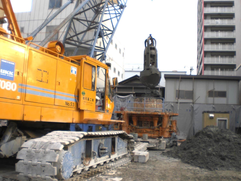 尼崎某駐車場解体工事
