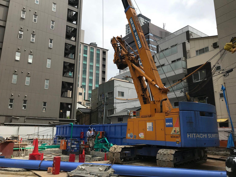 大阪市内某ホテル新築工事 搬入しました