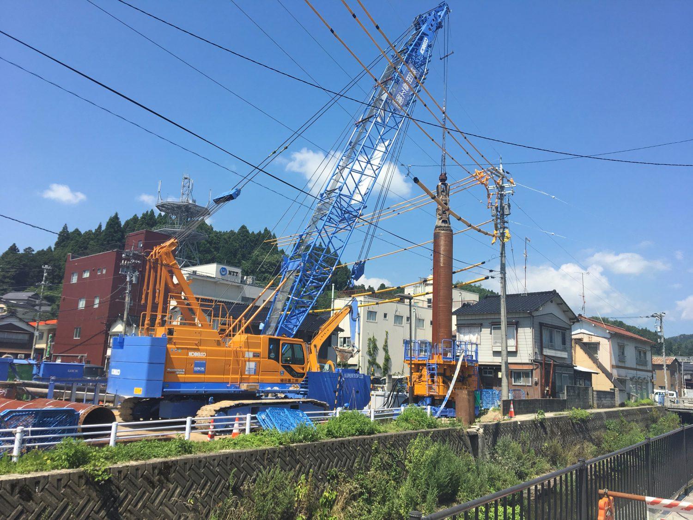 石川県某橋梁下部工事