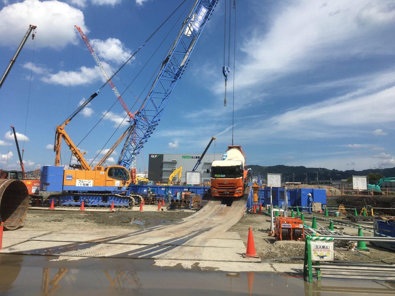 大阪府某ポンプ場建設工事
