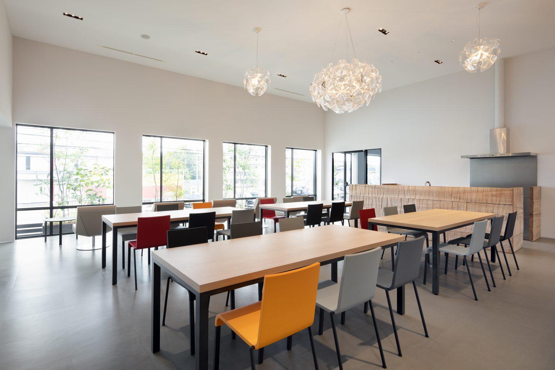 弊社大阪本社に従業員食堂が完成致しました。
